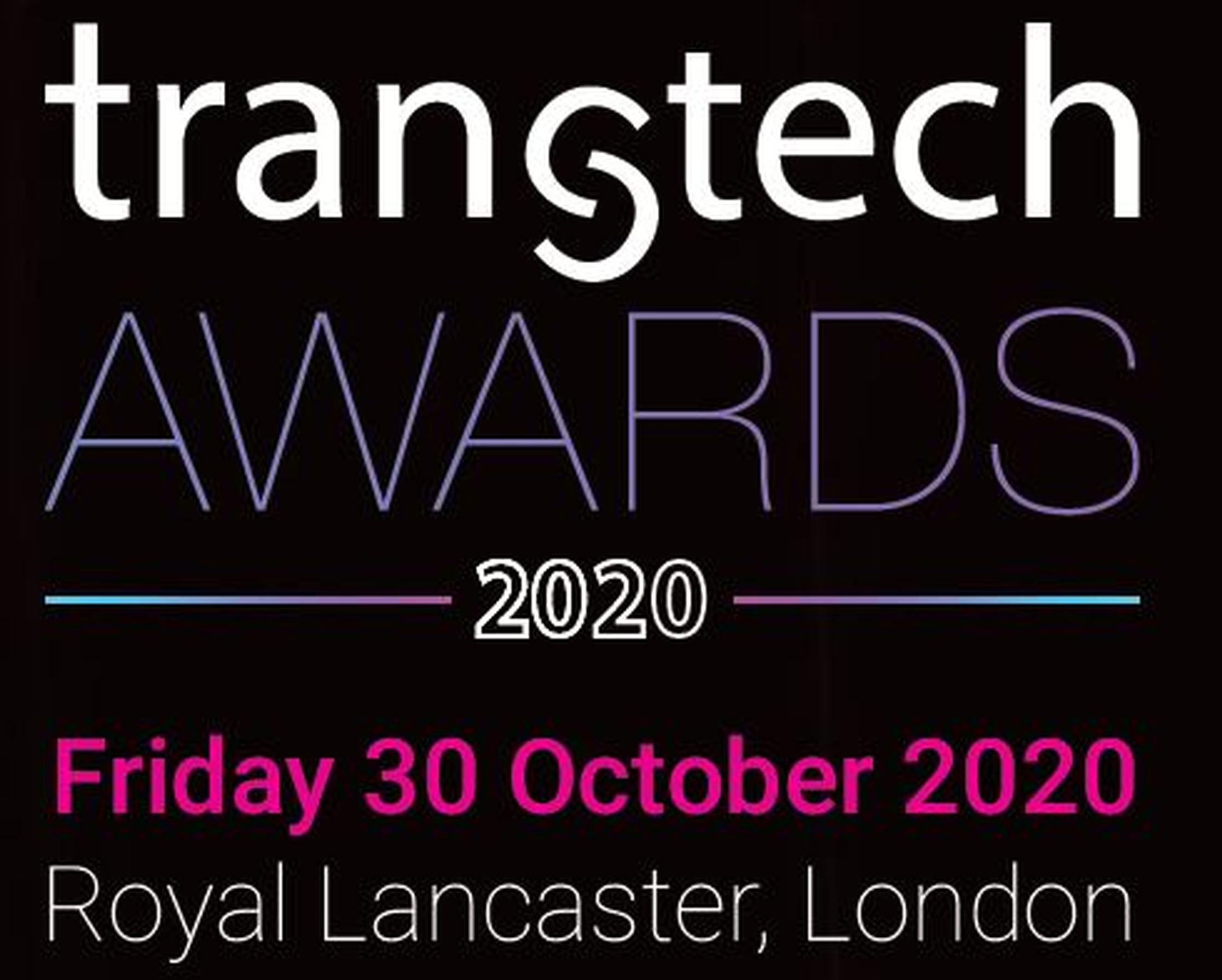 TRANStech Awards 2020 return to the Royal Lancaster Hotel