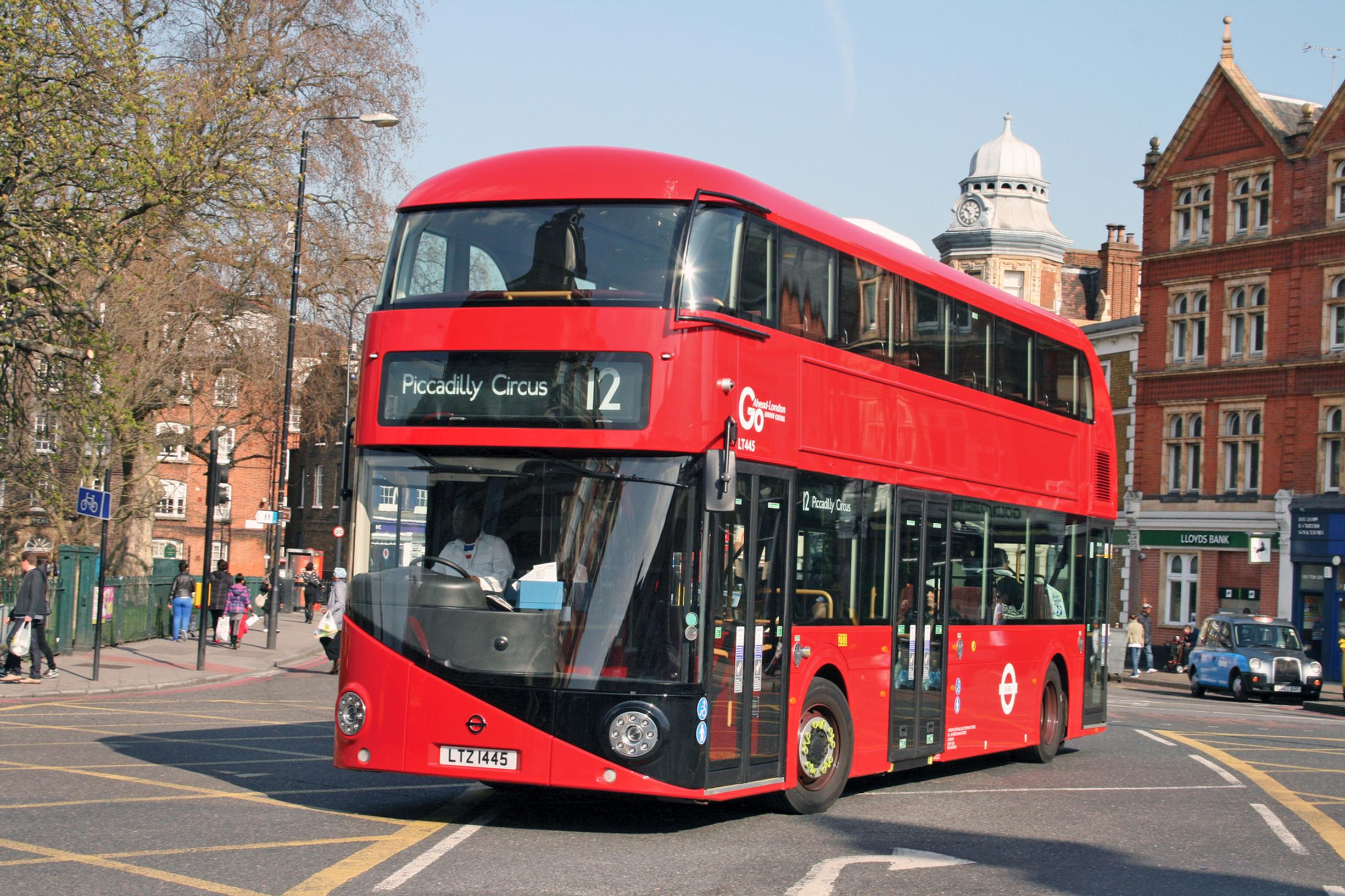 London drives the decline in England's bus patronage