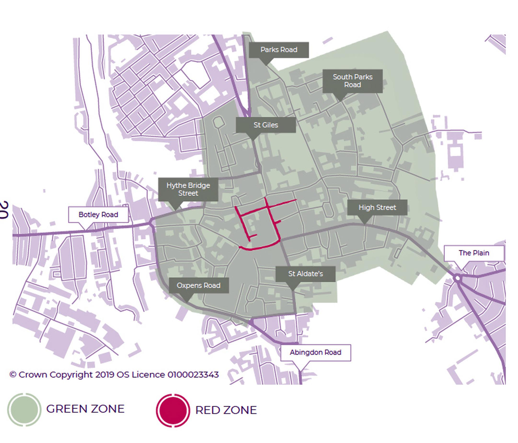Road user charge to support Oxford's zero emission zone