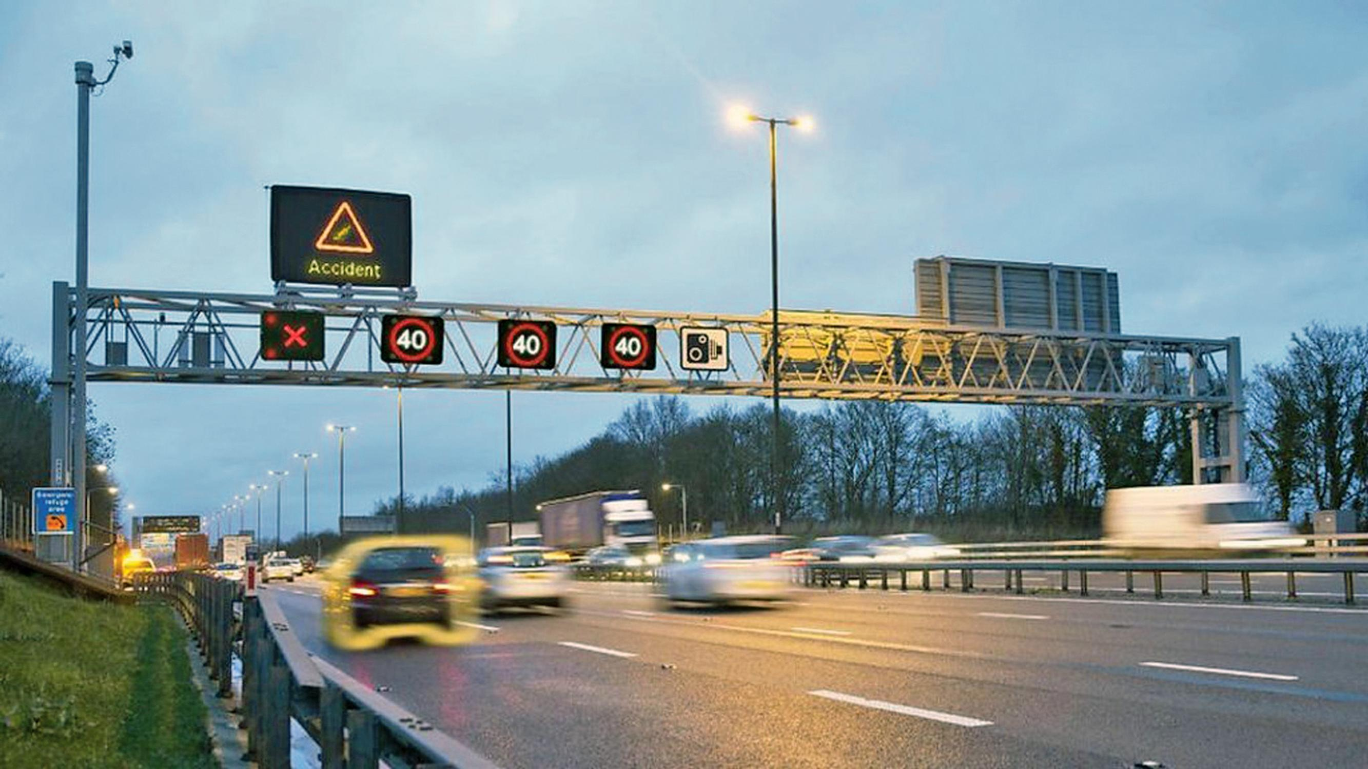 Smart motorways:  under fire