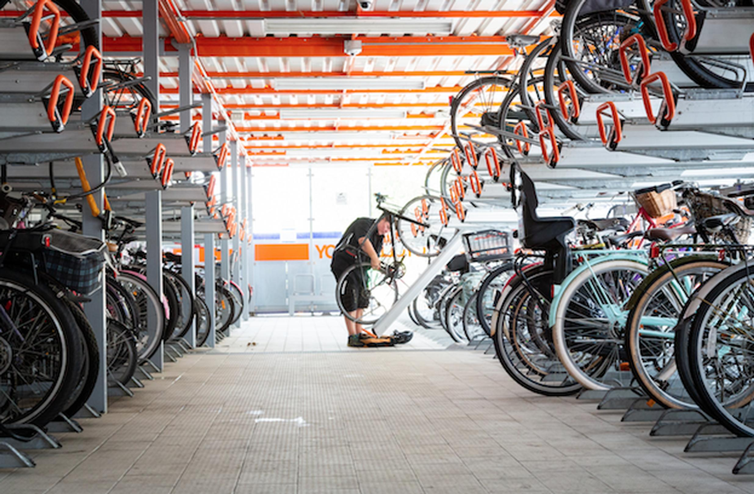 TfL funding will support the creation of more cycle secure parking across the capital