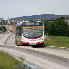 The Edinburgh busway has now closed to make way for trams