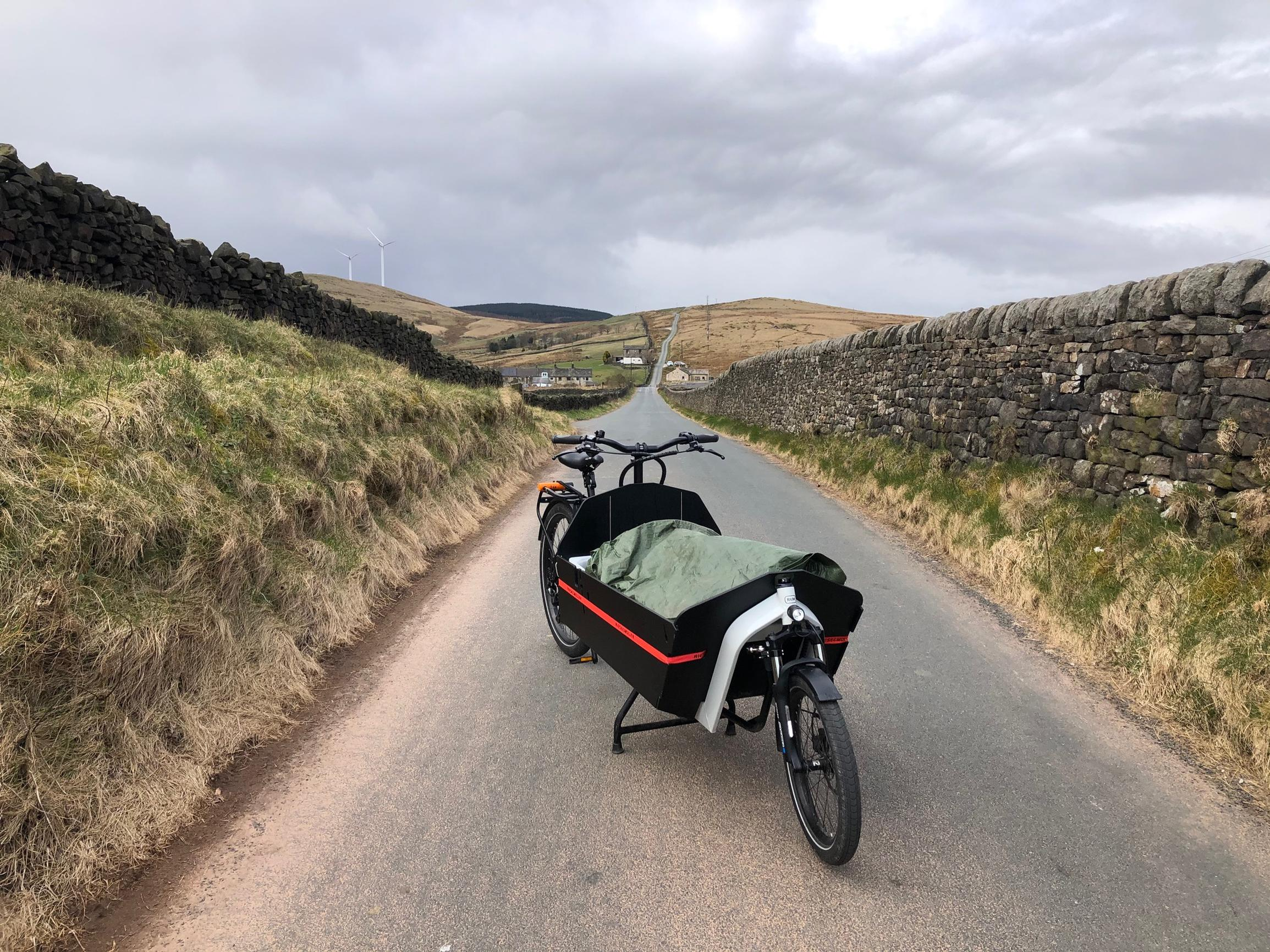 Cargodale: Calderdale ecargo bike delivery service takes on COVID-19 and is #cyclingtheextramile