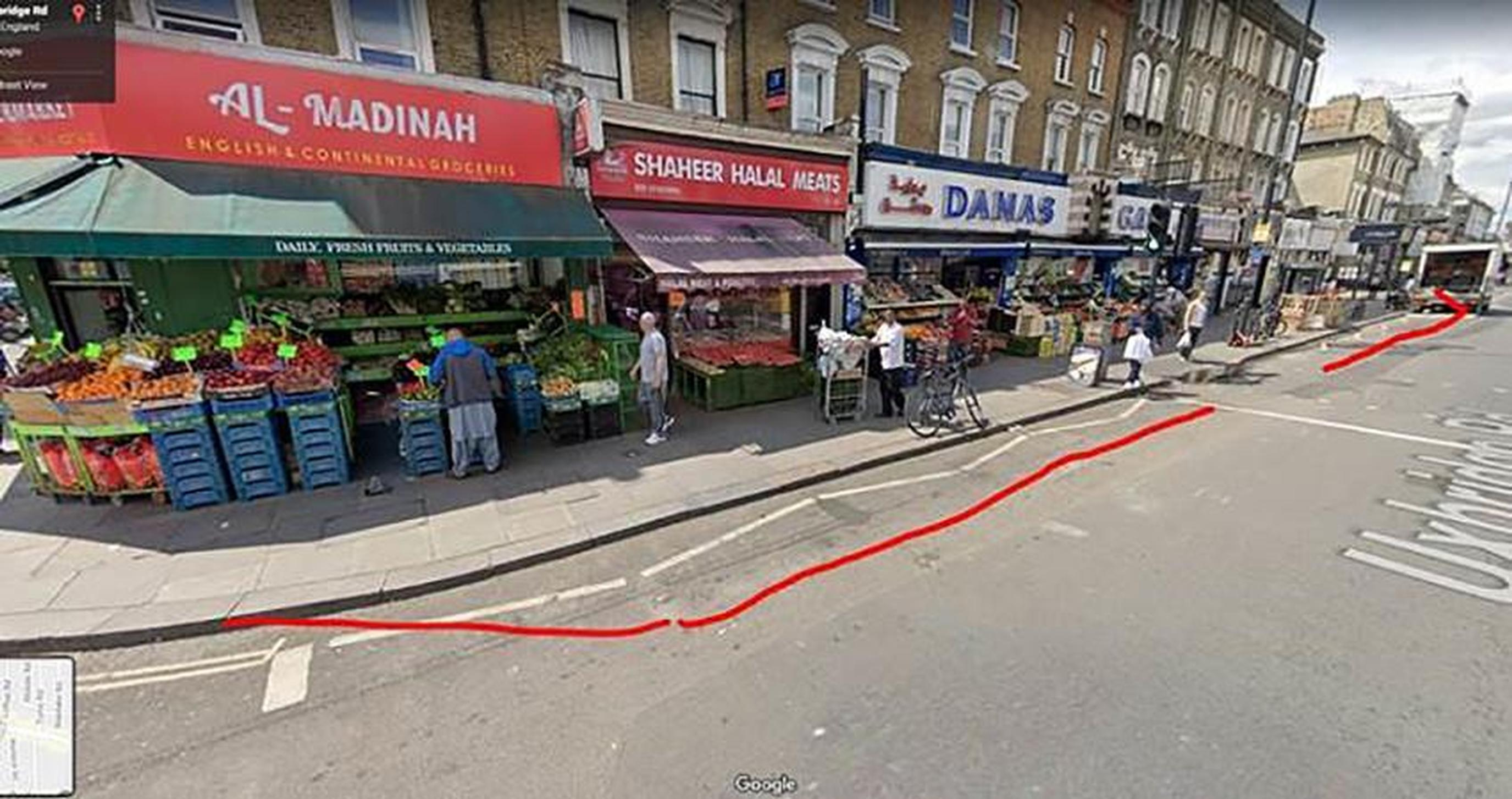 How pavements on Uxbridge Road will be widened