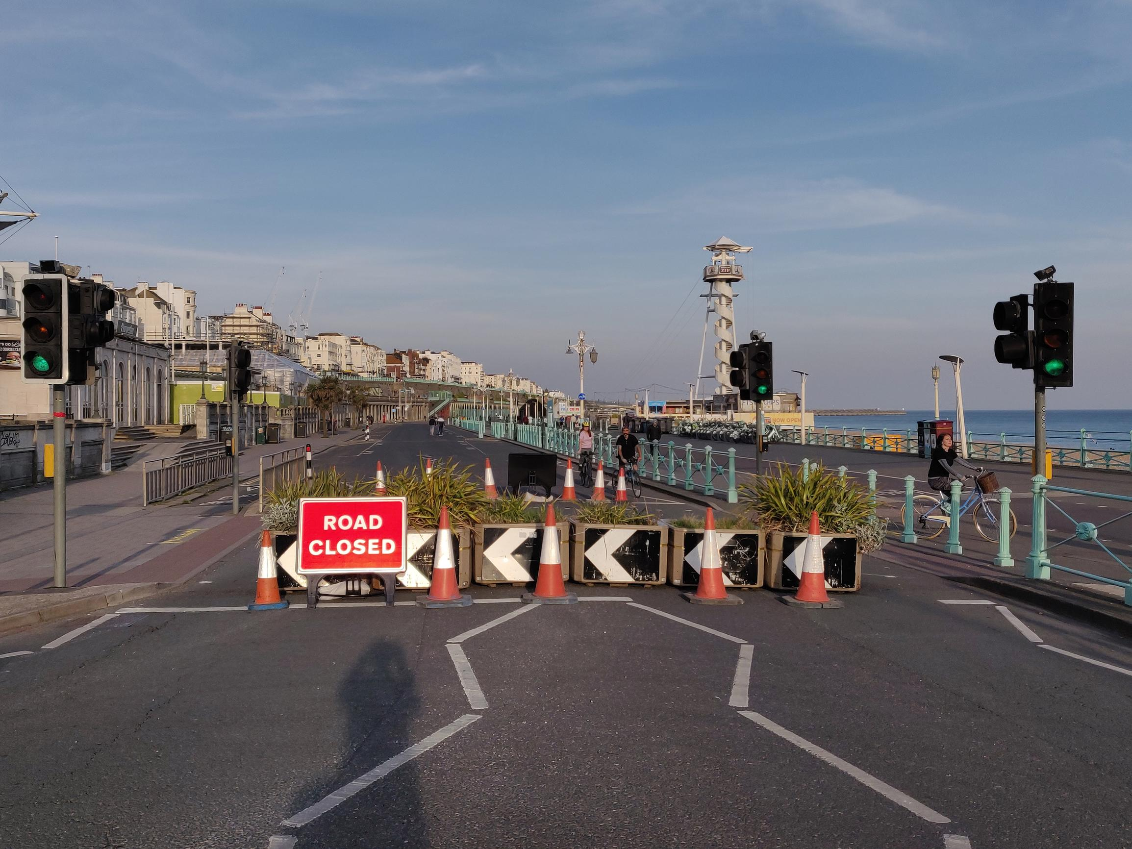 Brighton and Hove was one of the first authorities to re-allocate space from roads to active modes