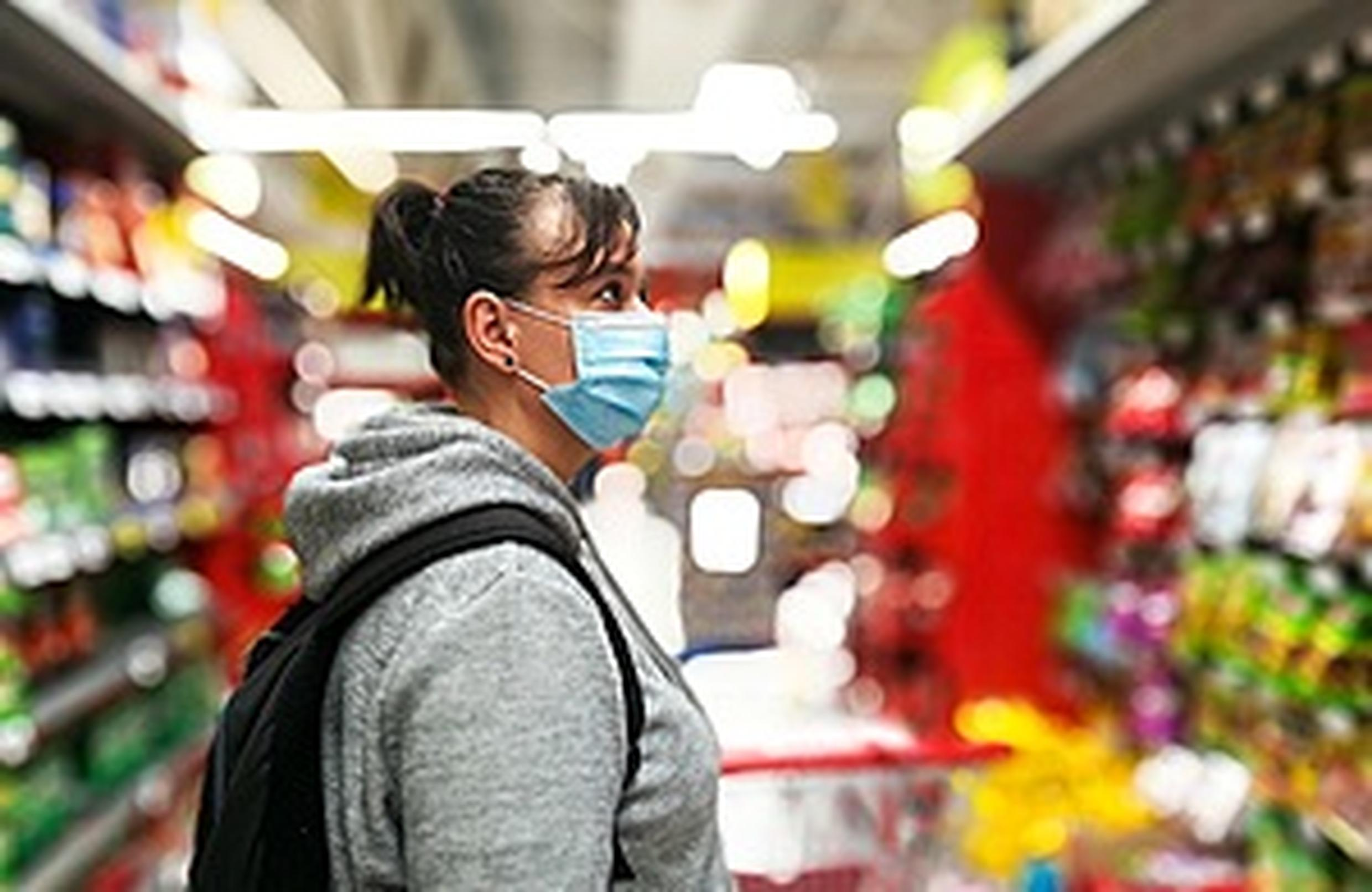 Masks can be beneficial on public transport or when visiting shops, says government
