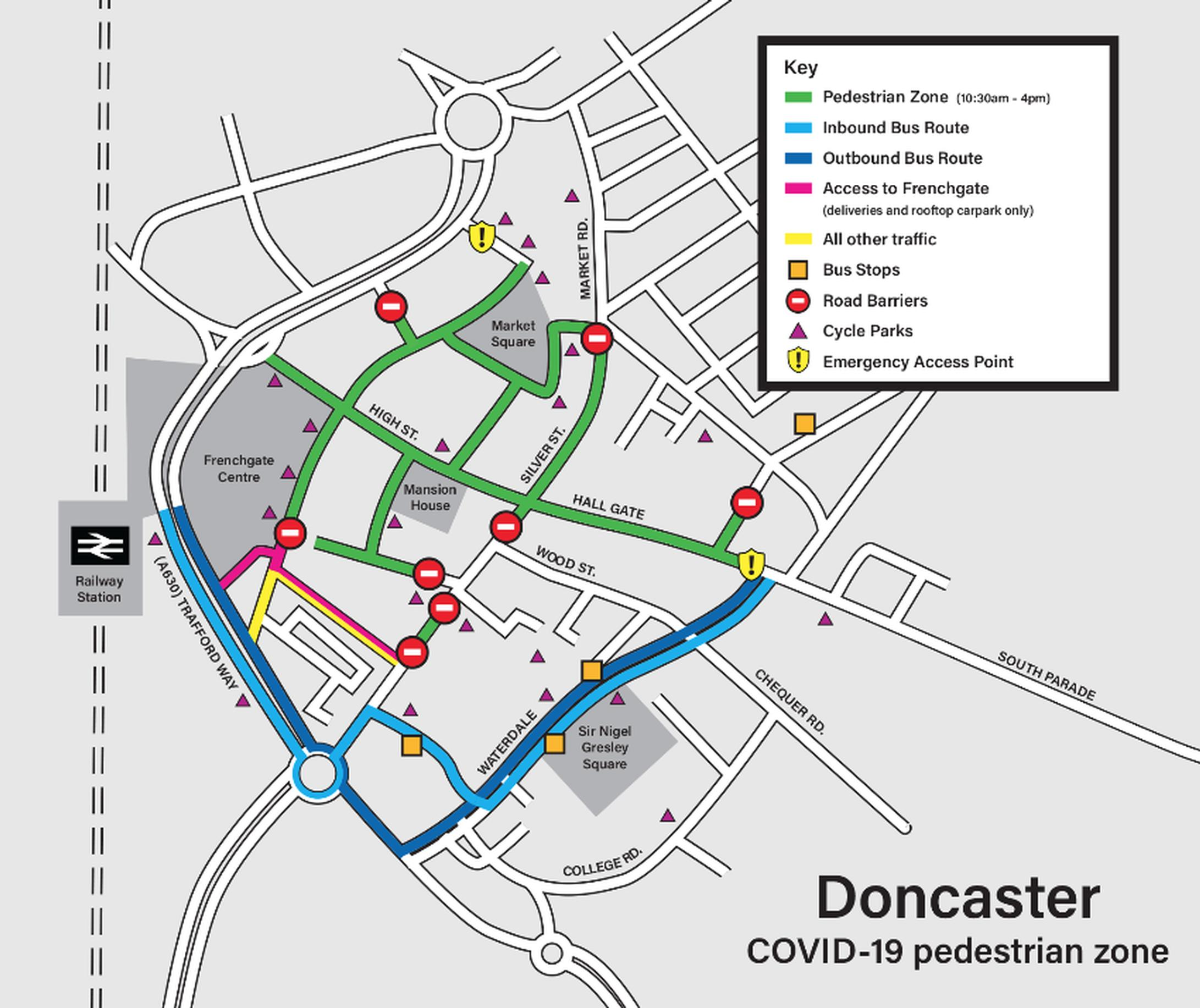 Doncaster Council prepares for when lockdown eases