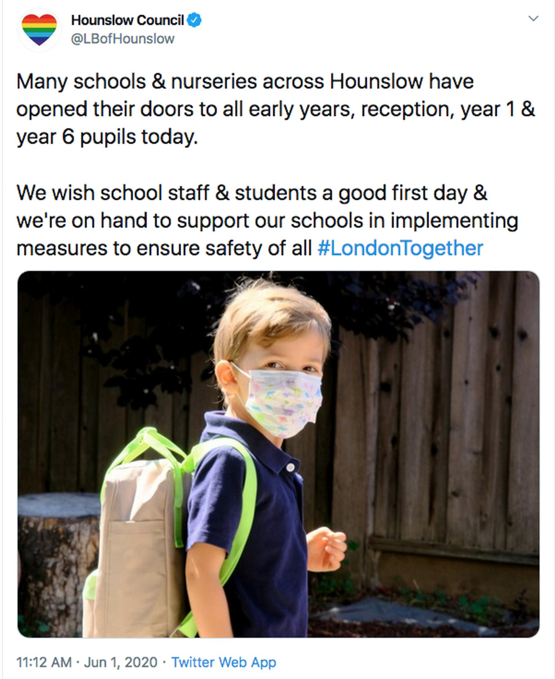 Hounslow Council provides travel support for school staff