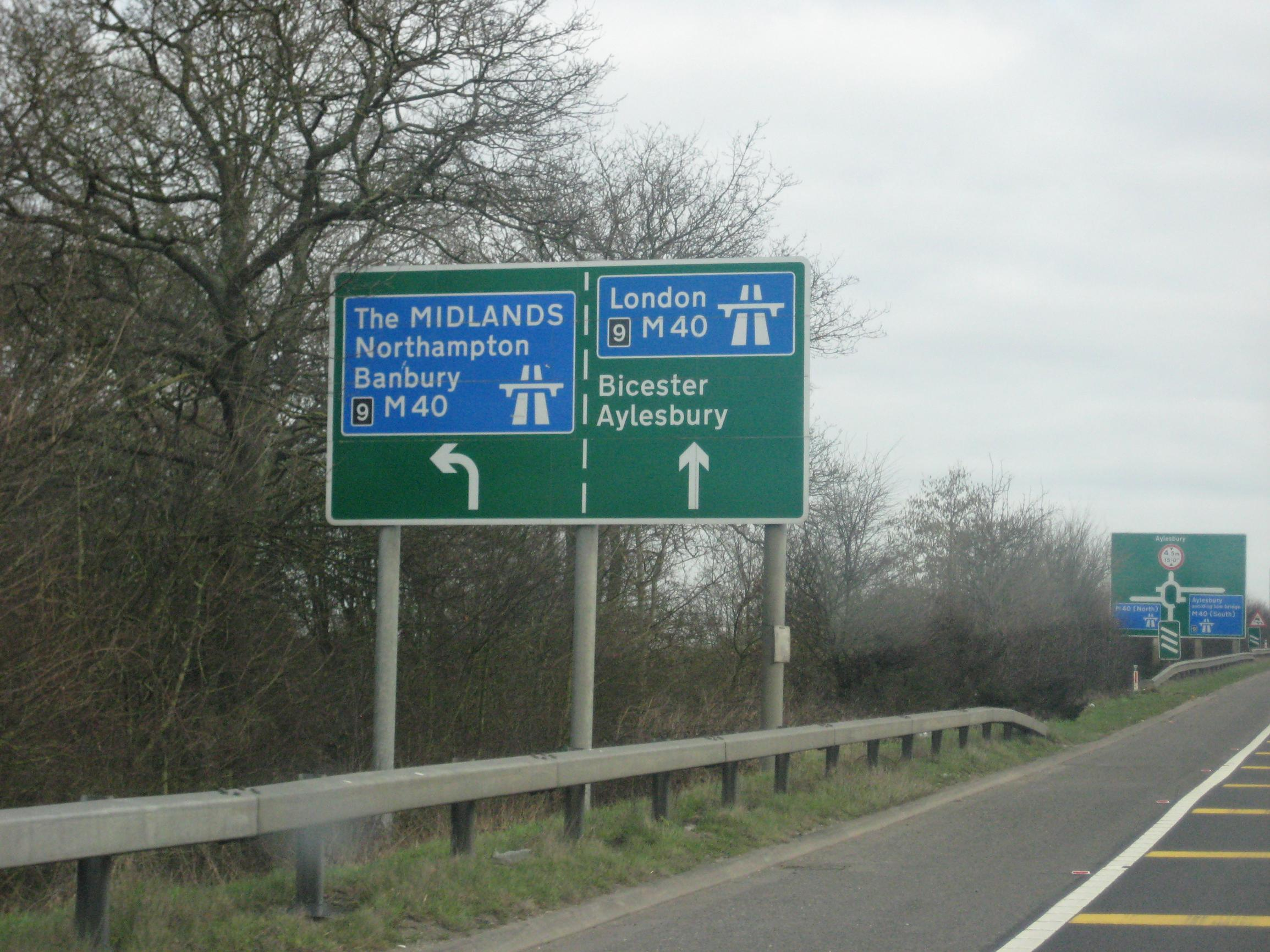 The M40 could be studied