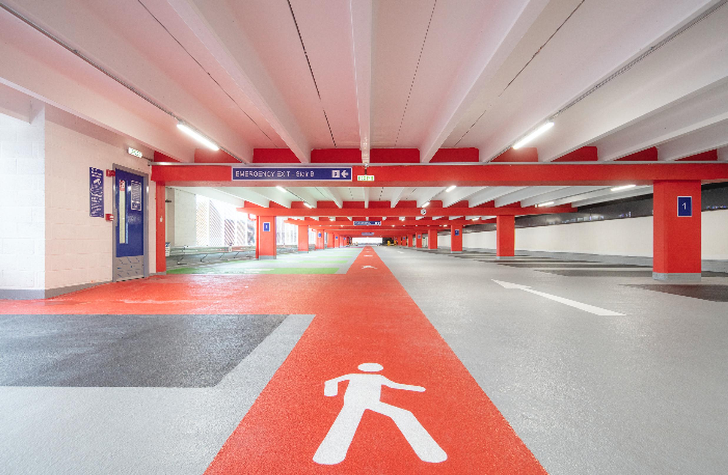 StructureCare worked on the British Parking Award winning Rotherham Interchange renewal car park