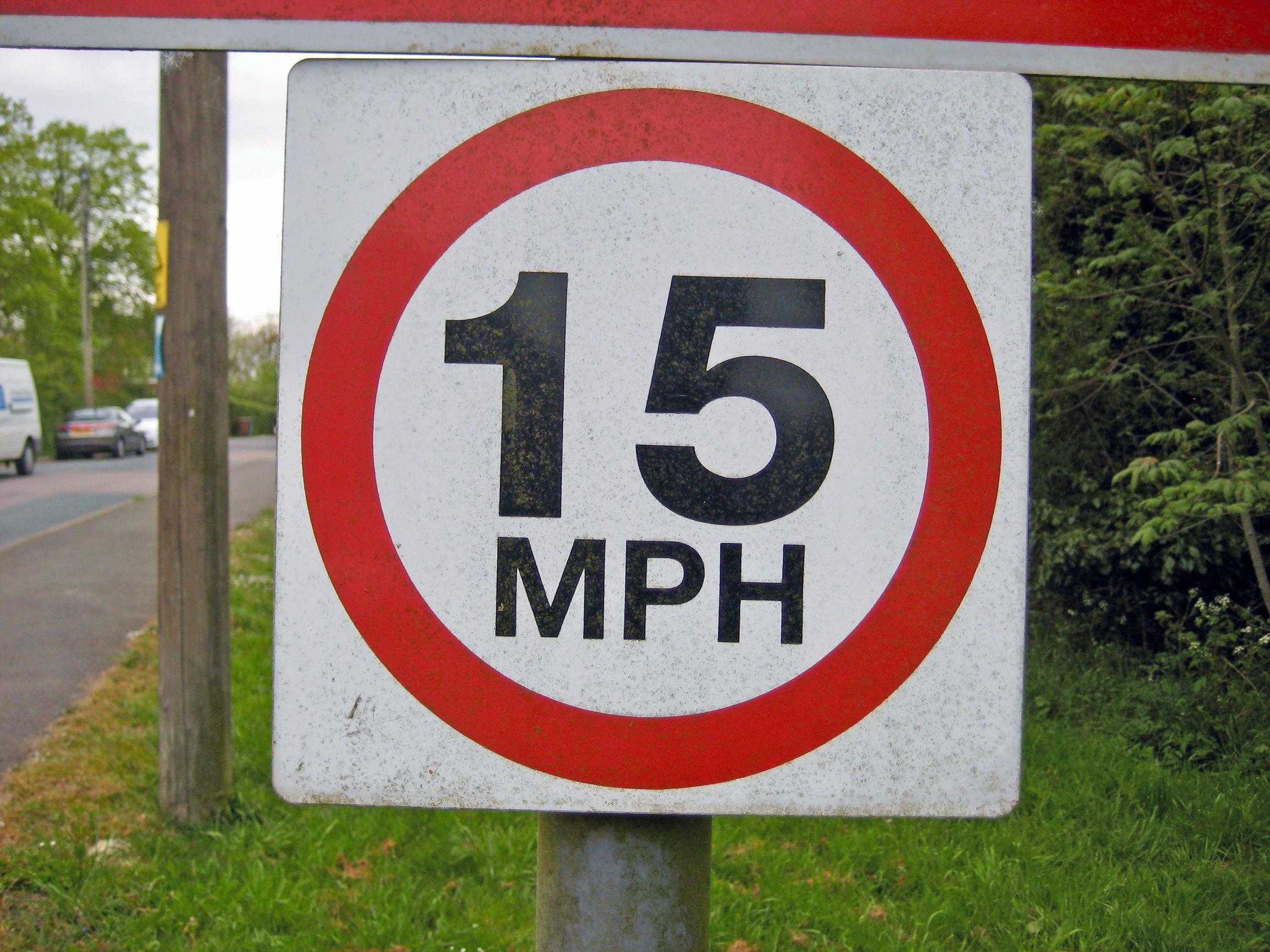 The City of London is proposing advisory 15mph limits