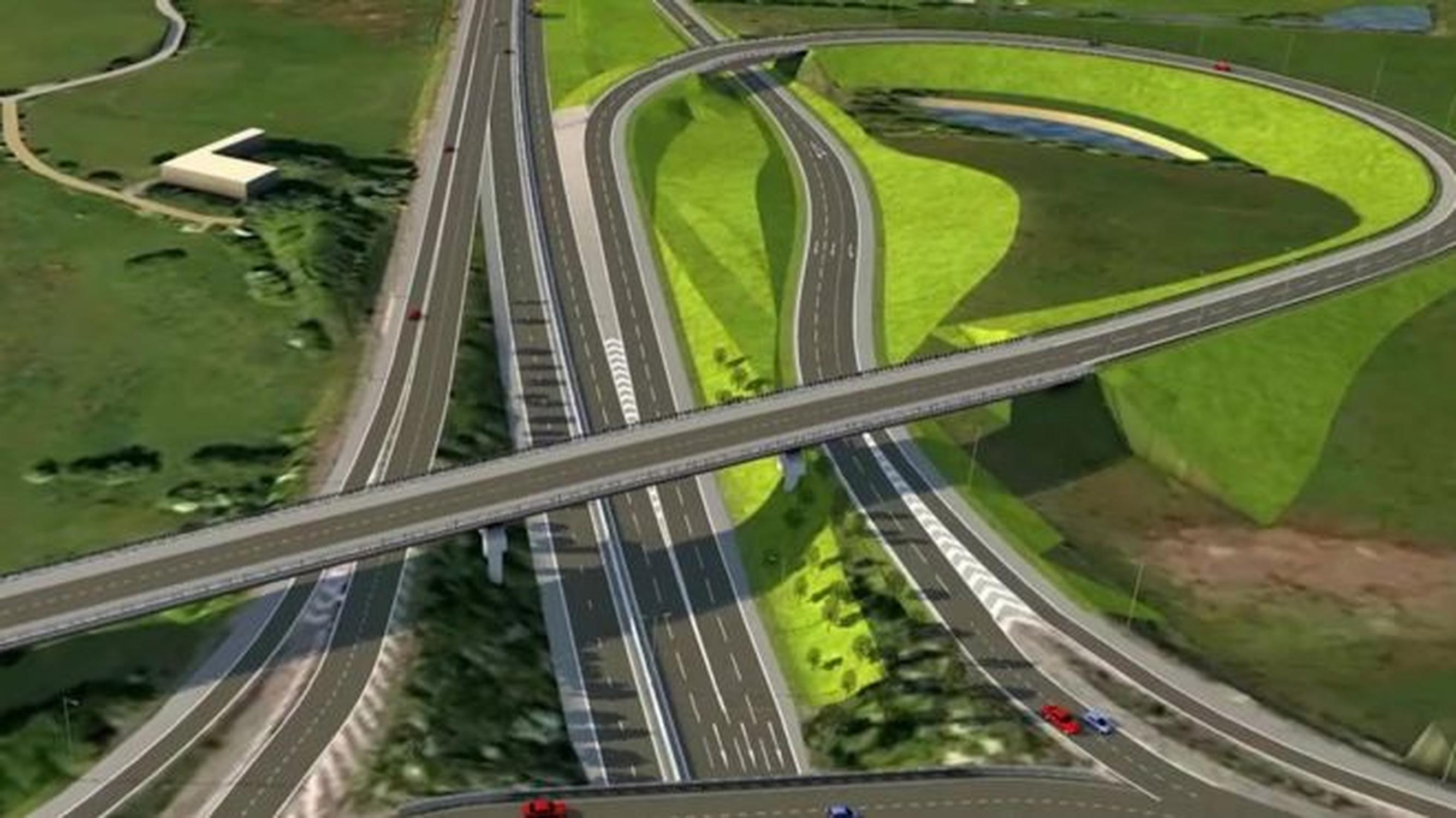 CGI graphic of the proposed link