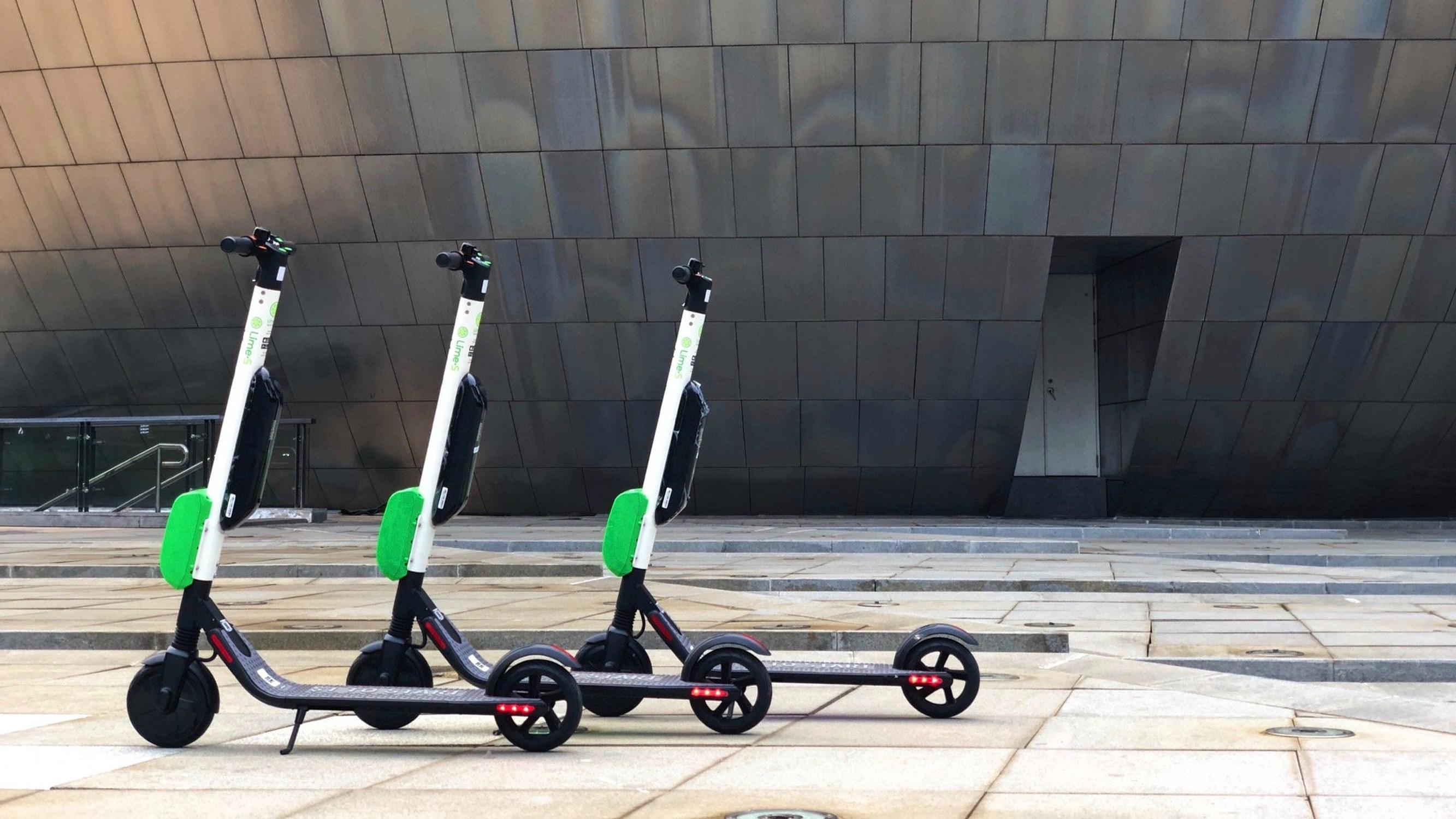 E-scooters: the first trials are still expected this summer
