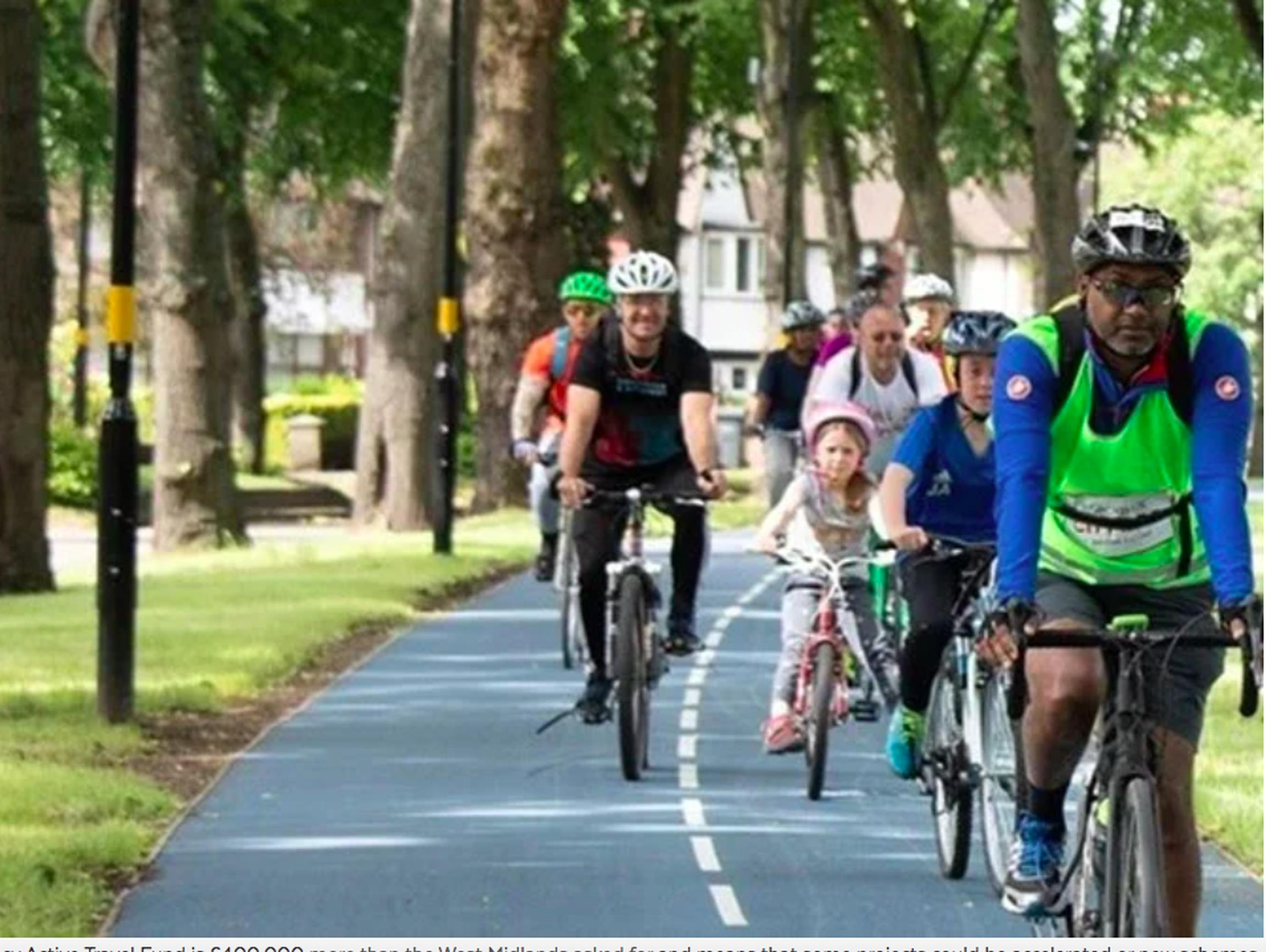 More than 45 cycling and walking schemes have been earmarked for urgent delivery in the West Midlands