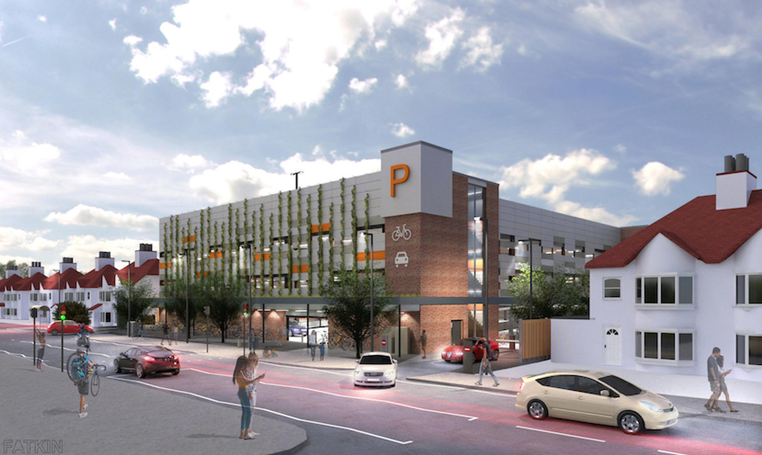 Design for a Mobility Hub for the Luton & Dunstable University Hospital