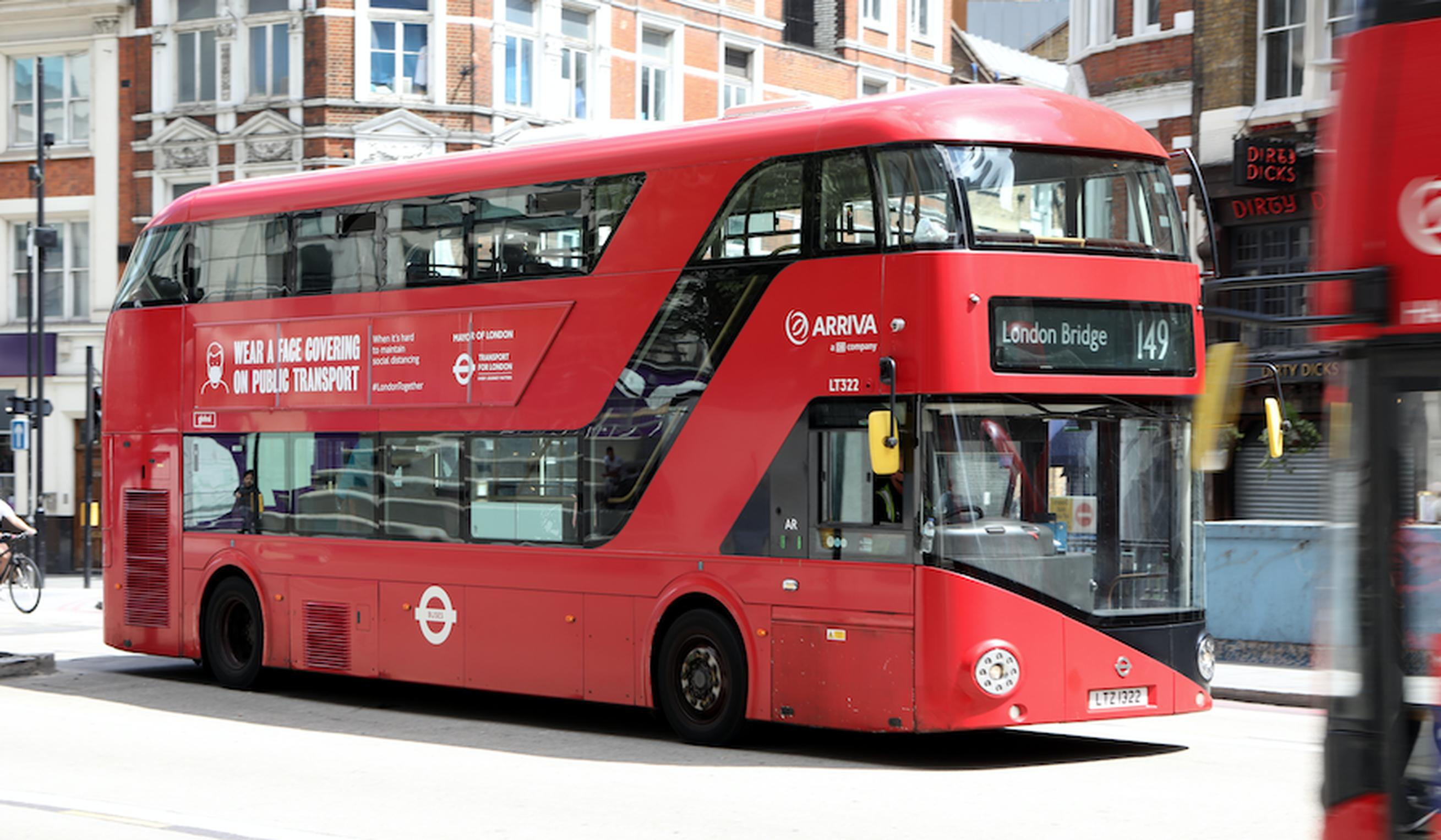 TfL plans to operate its bus lanes 24 hours a day