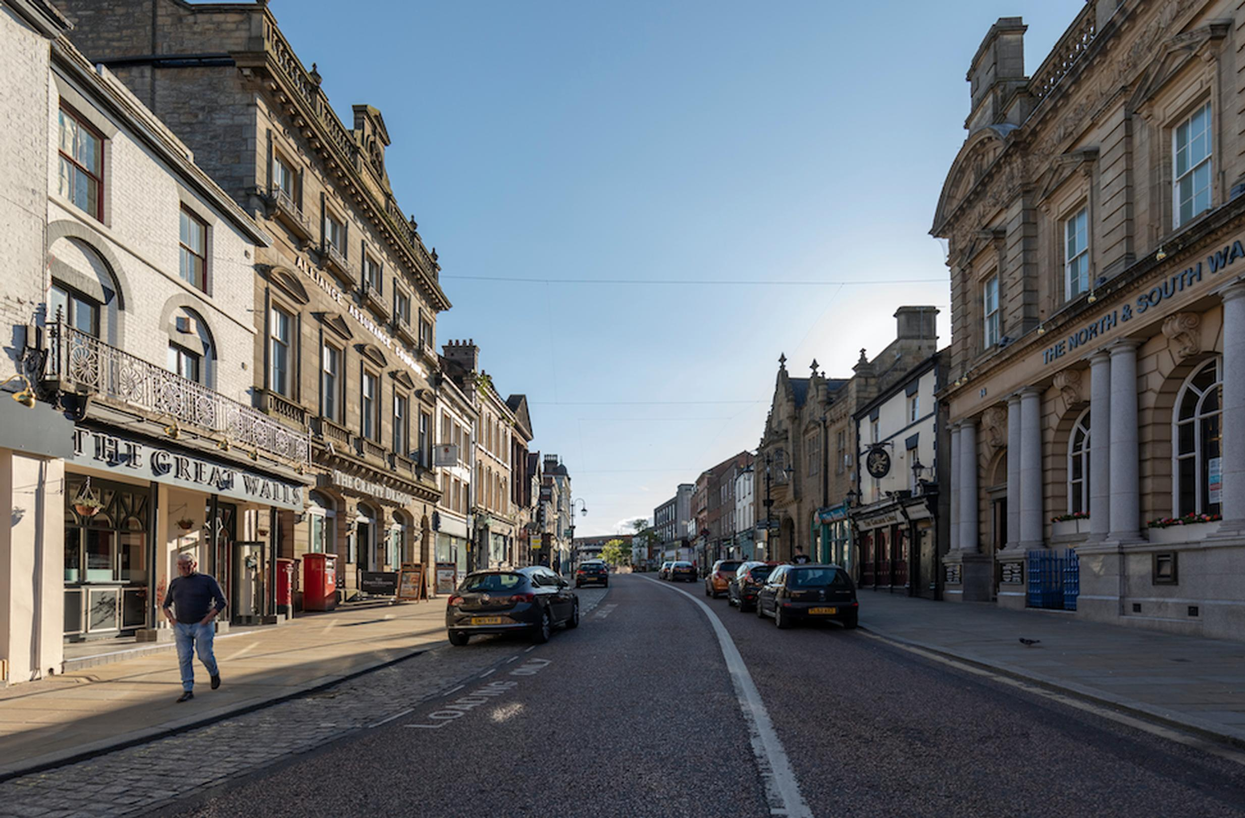 The Welsh Government wants to revitalise town centres in a sustainable manner