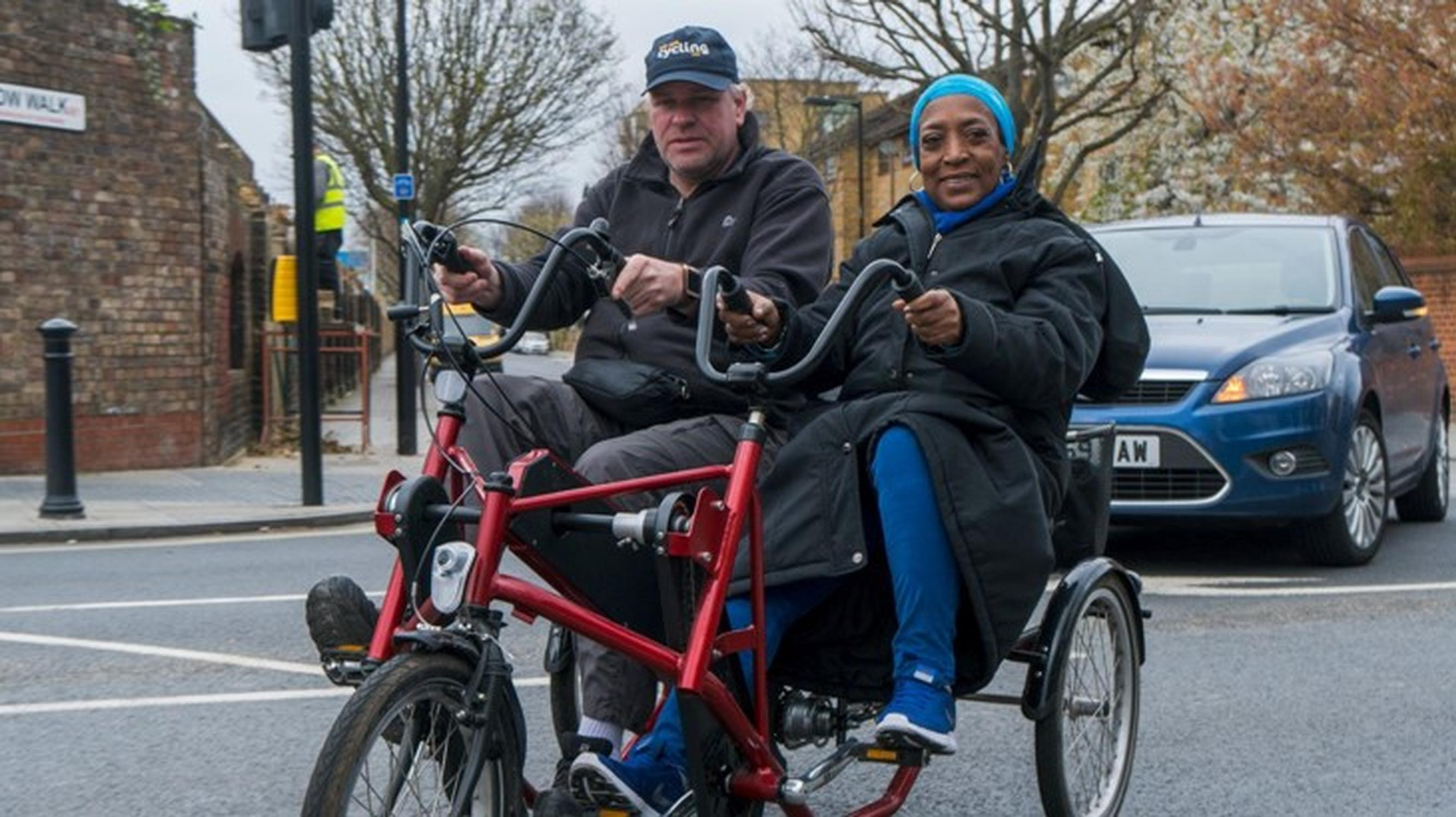 55% of people from ethnic minority groups who never cycle would like to start; and 38% of people at risk of deprivation, 36% of women, and 31% of disabled people who do not cycle say they would like to give it a go