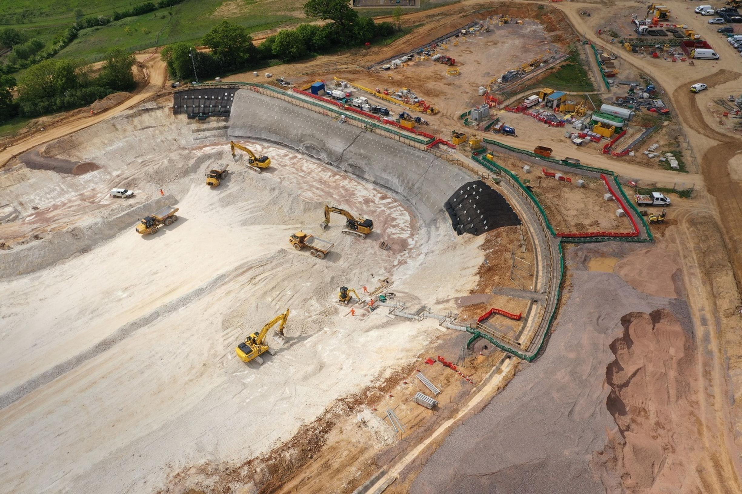 Construction of HS2 phase one underway