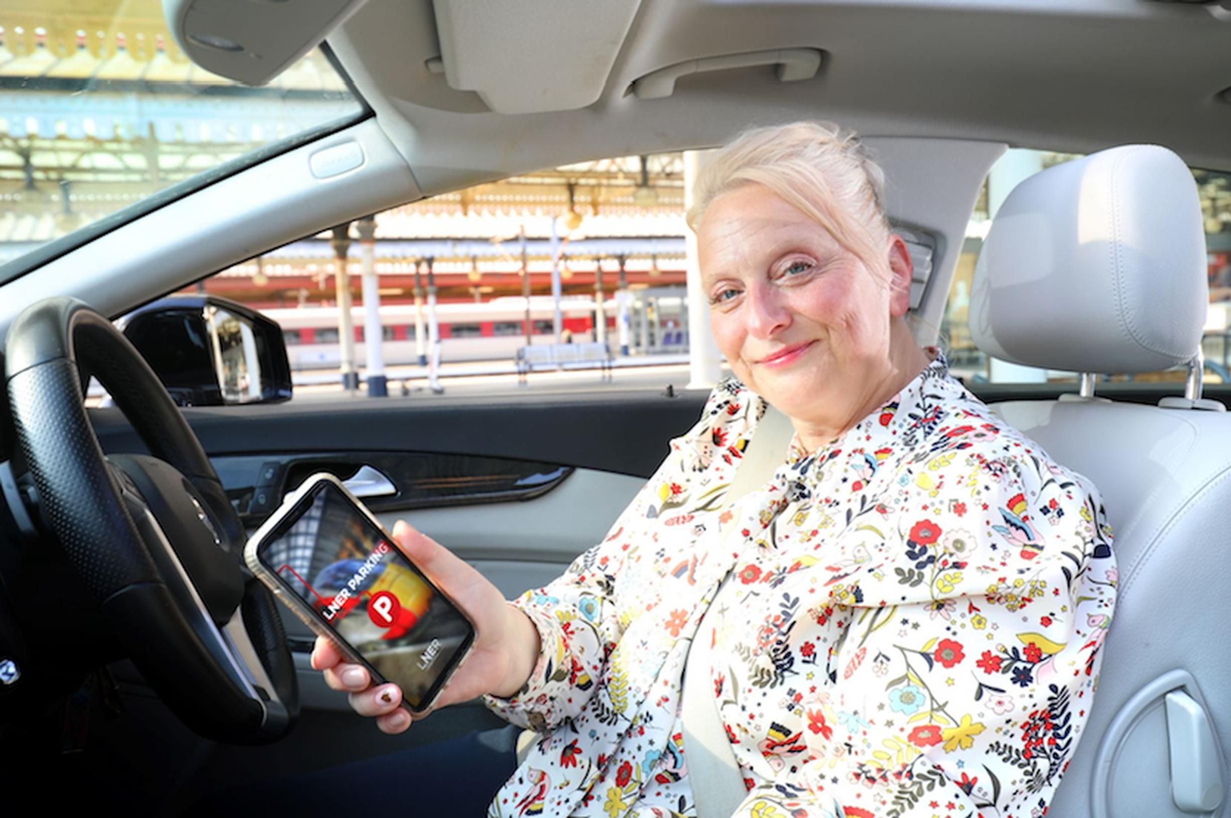 LNER introduces contactless parking payment