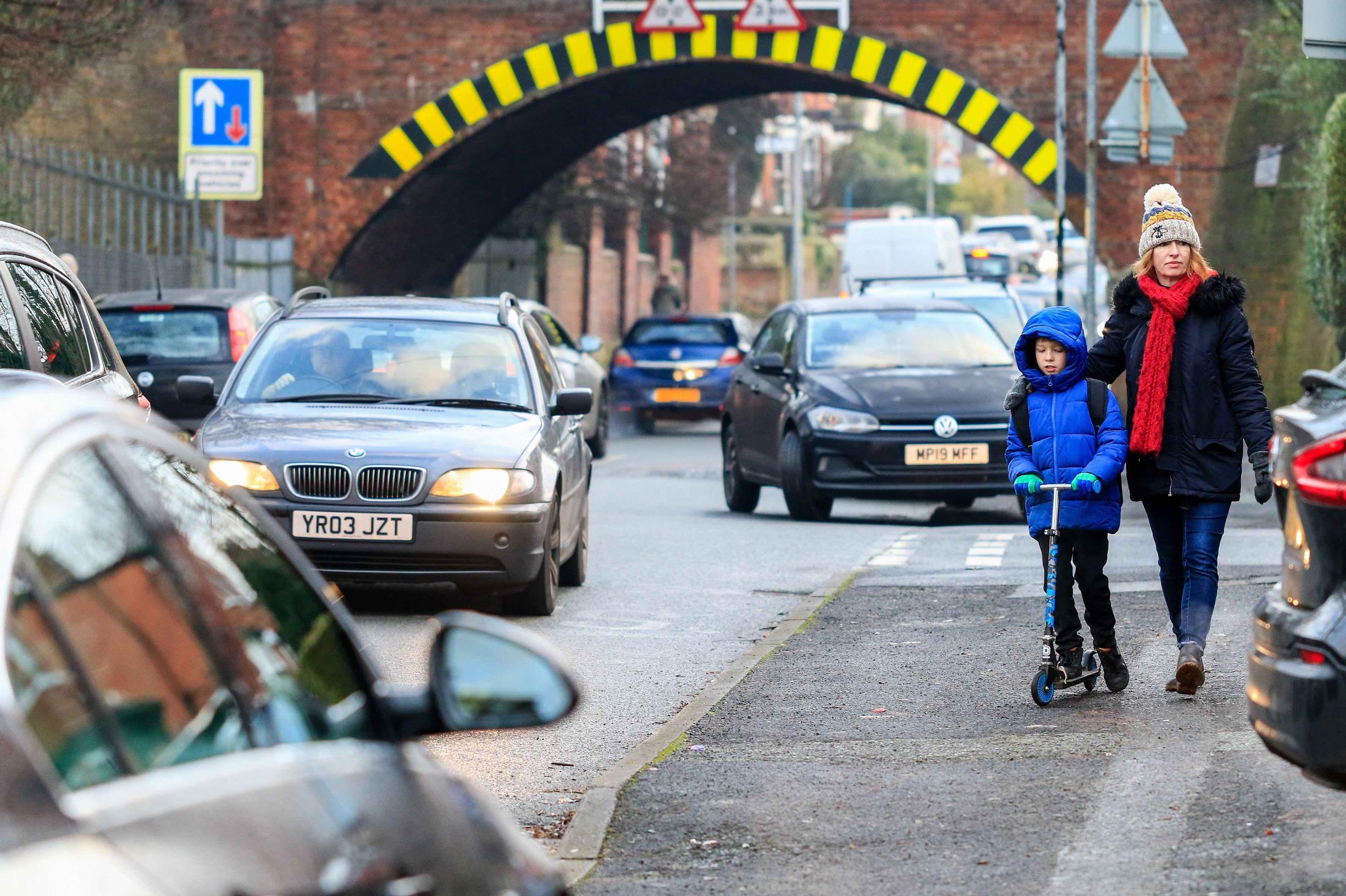 62% of parents cited congested roads as the key reason why they do not like the school run