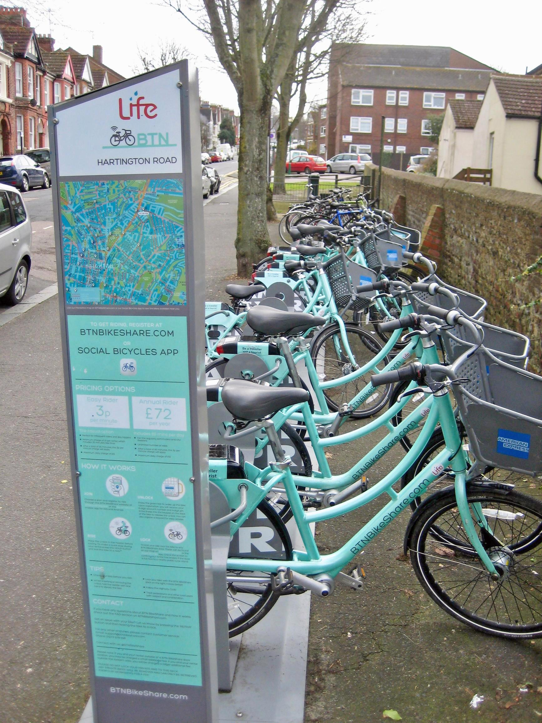 Brighton: e-bike investment