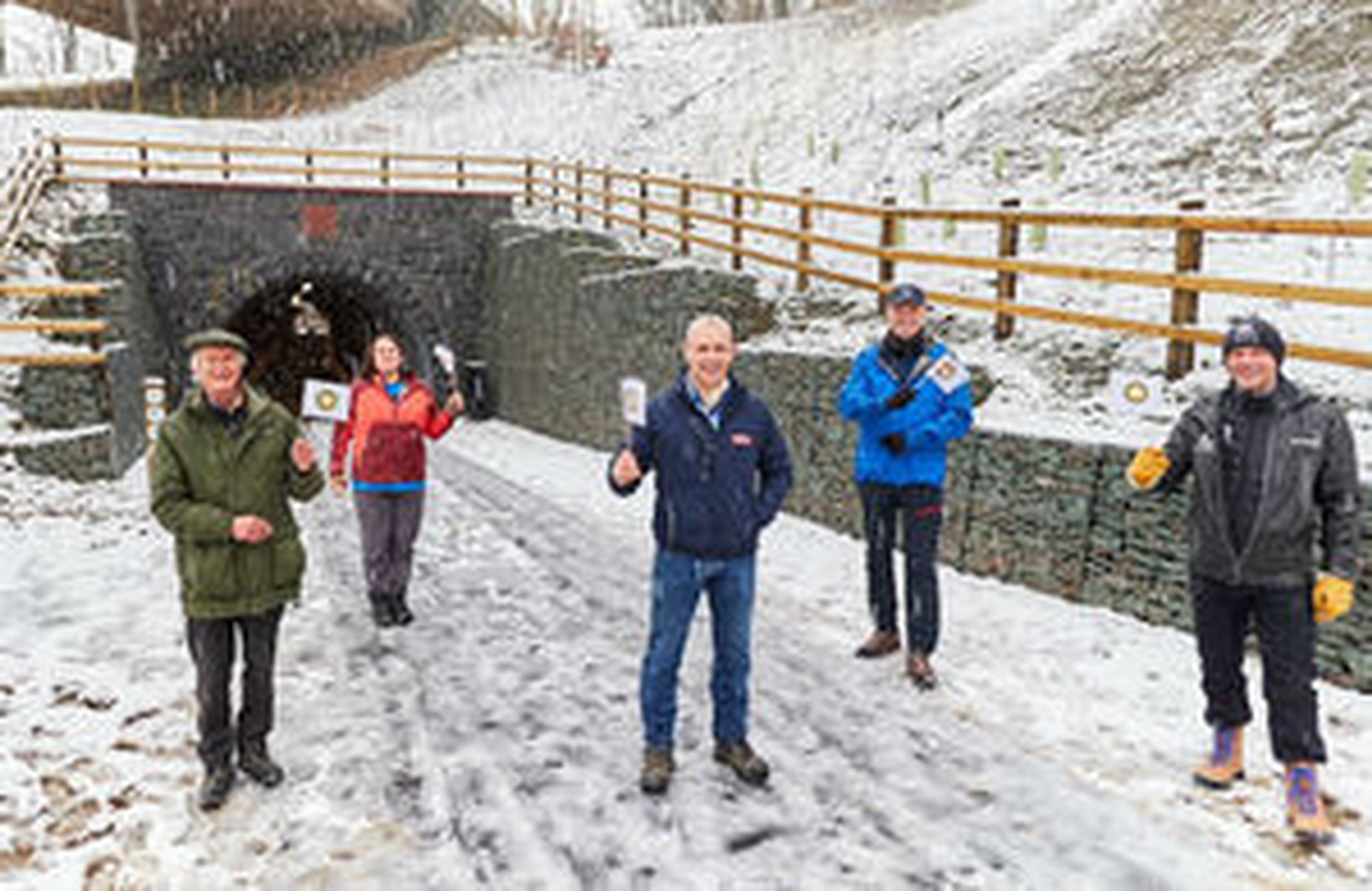 Reopening the A66 Keswick to Threlkeld trail