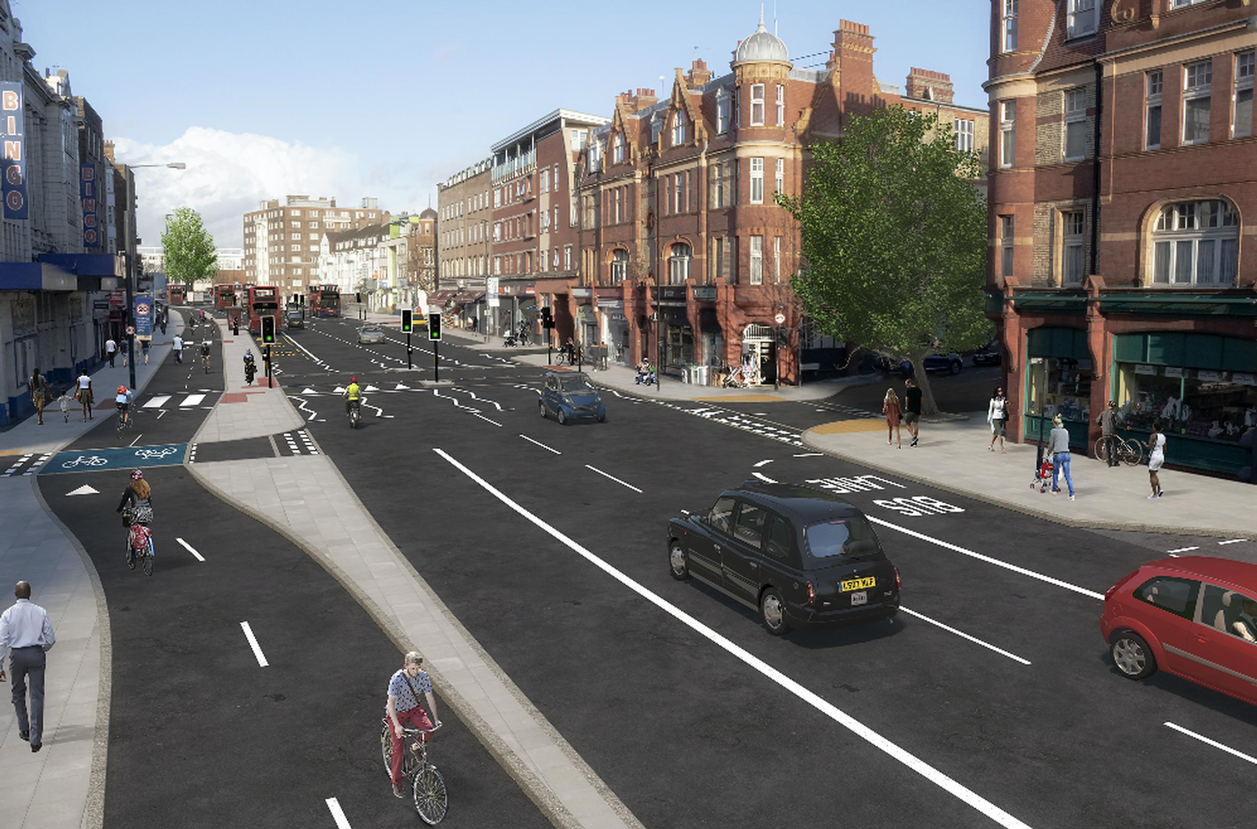TfL`s proposed changes  for Streatham Hill