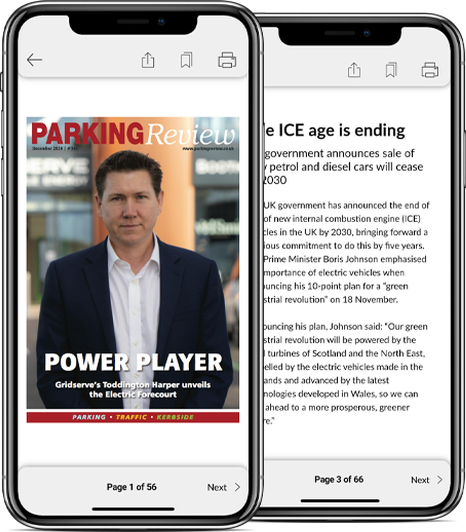 The Parking Review Editions app