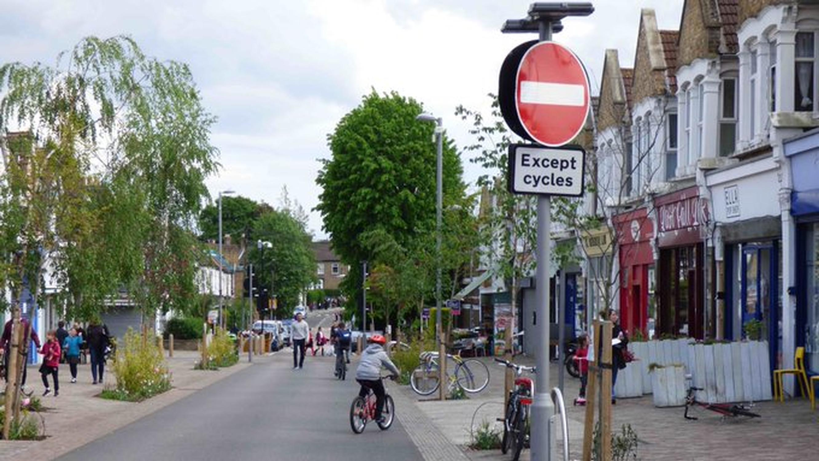 Waltham Forest has championed the cycling and walking friendly `Mini-Holland` concept