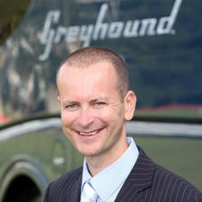 Alex Warner, Managing Director, Greyhound UK