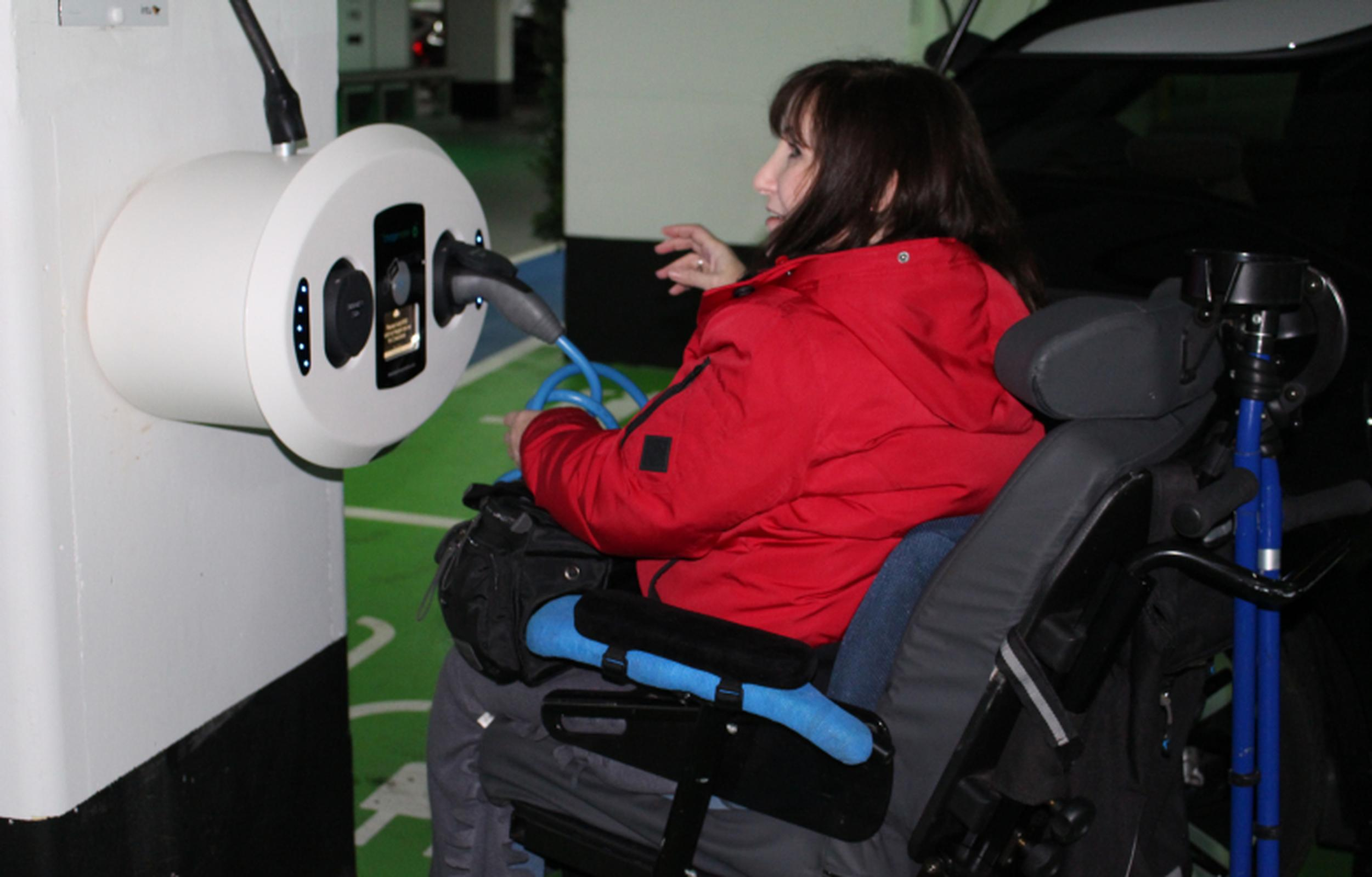 Lack of accessibility across the UK's EV charging infrastructure has been highlighted as a key problem area