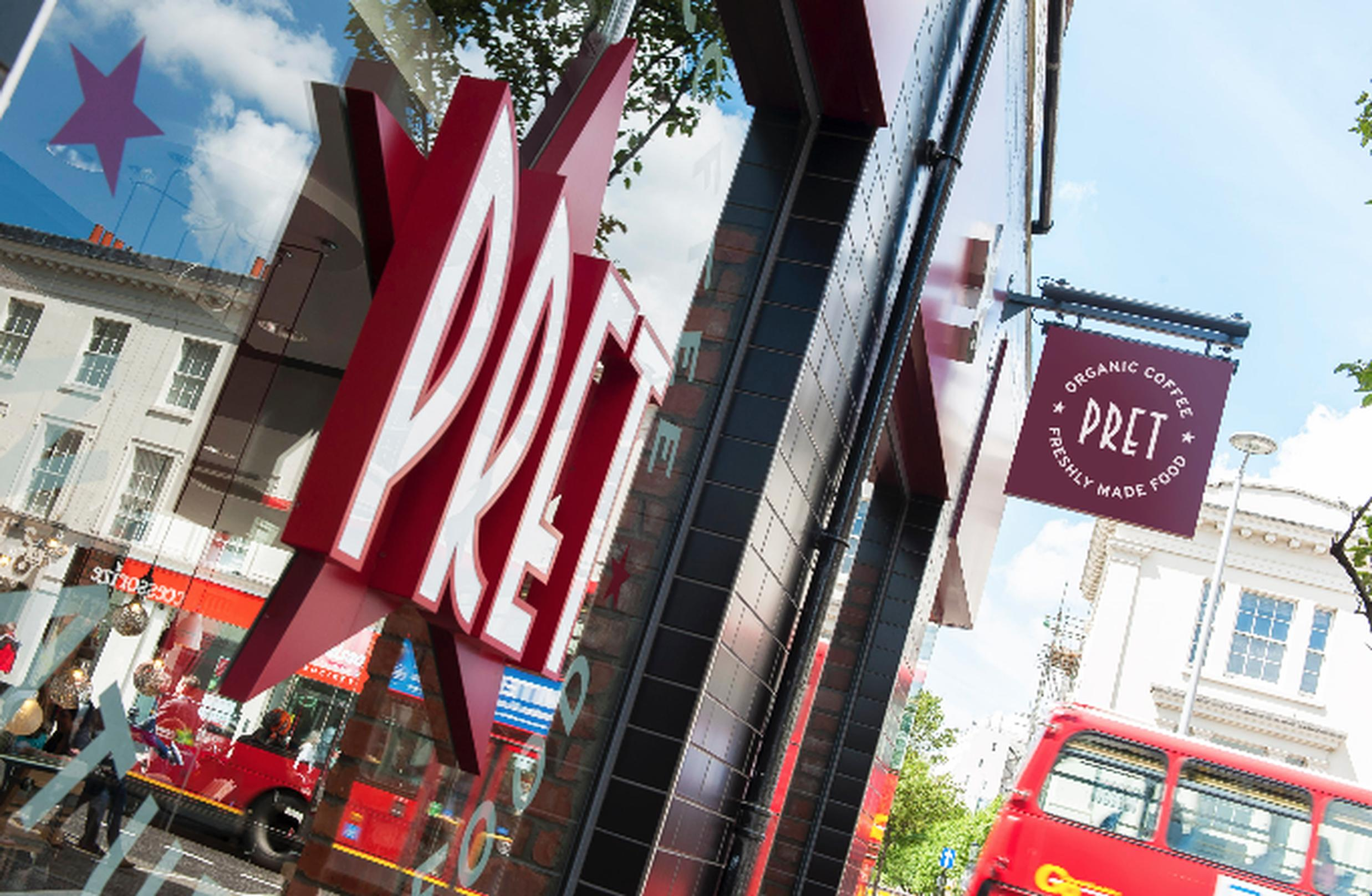 Pret A Manger orders NSL identity checks