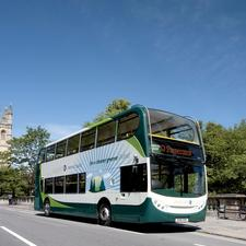 The launch of the Stagecoach hybrids came as new funding for cleaner buses was announced by transport ministers in England and Scotland