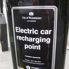 A Westminster recharging point