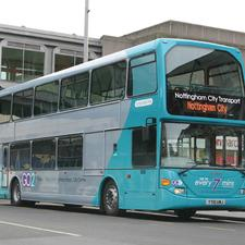 Public transport networks in Nottingham were rated highly by CBT research