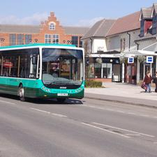 Norfolk Green was named UK Bus Operator of the Year
