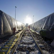 Polytunnels help to heat up ScotRail trains