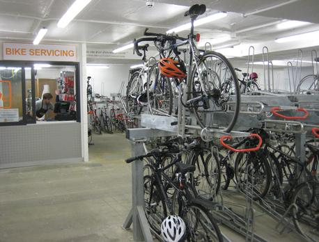 Corporate Bike Locker Room