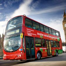 New double-decks for London: a mockup of the new Routemaster design from Wrightbus