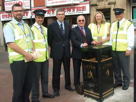 Wirral CEOs clamp down on litter louts
