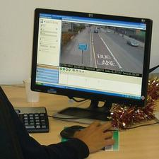 Bus lane use under review in the Barnet council control room